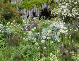 Le jardin Hermannshof en mai