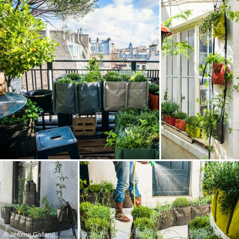 potager en ville ou sur balcon cultivez vos l gumes en sac blog promesse de fleurs. Black Bedroom Furniture Sets. Home Design Ideas
