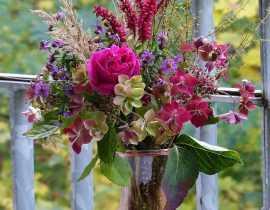 Bouquet du jardin d'automne