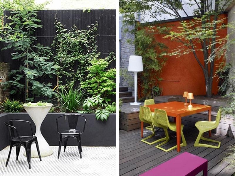 un mur au jardin nos id es pour l 39 habiller et en tirer parti blog promesse de fleurs. Black Bedroom Furniture Sets. Home Design Ideas