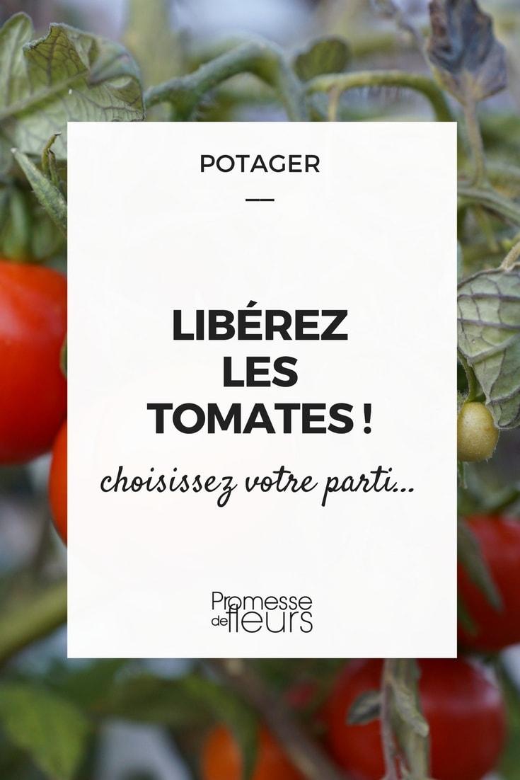 Libérez les tomates ! Choisissez votre parti...