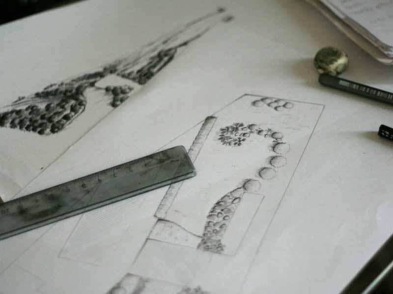 Dix conseils de paysagiste pour l 39 am nagement de son for Dessiner son jardin paysager