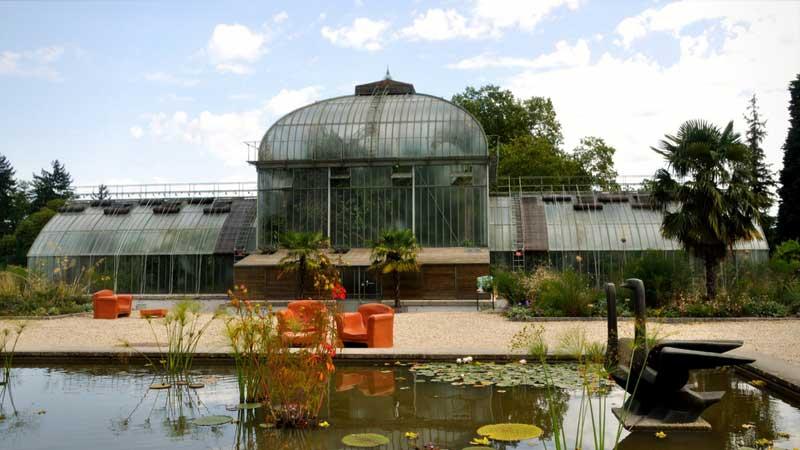 le jardin dhiver - Jardin Botanique Geneve