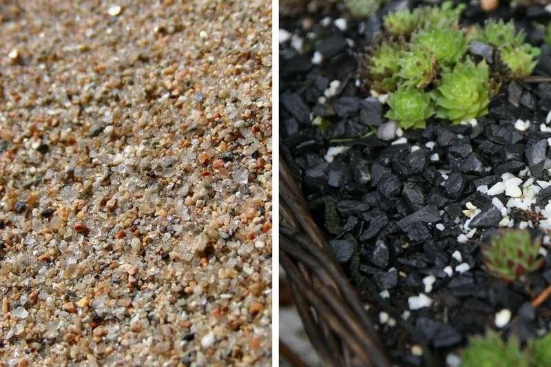 Tourbe, sable, perlite, vermiculite, pouzzolane... Pour quoi ...