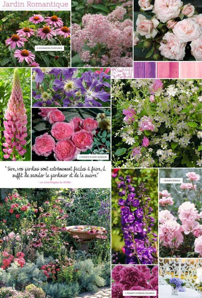 Jardin romantique blog promesse de fleurs for Jardin romantique