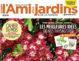 L'Ami des Jardins, dans le numéro de décembre 2016