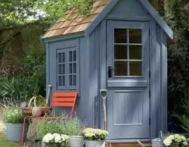 Abri de jardin : 6 idées déco pour le personnaliser et l'intégrer