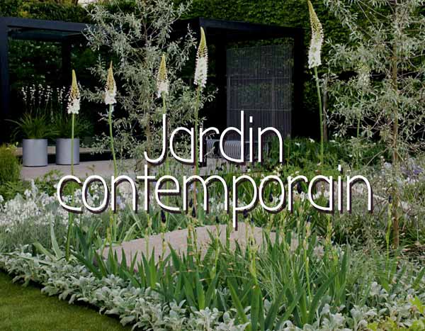 Scène de jardin contemporain - Inspiration et idées - Promesse de Fleurs