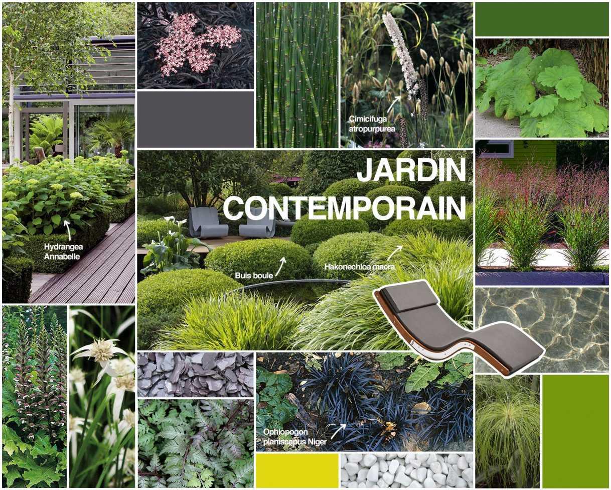 Best jardin contemporain ideas awesome interior home - Jardin contemporain et accueillant pour le printemps enidees ...