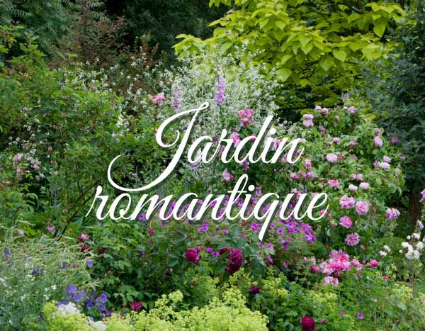 Massif romantique - Idées jardin