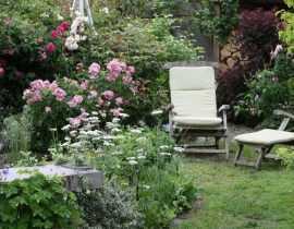 L'aménagement d'un petit jardin