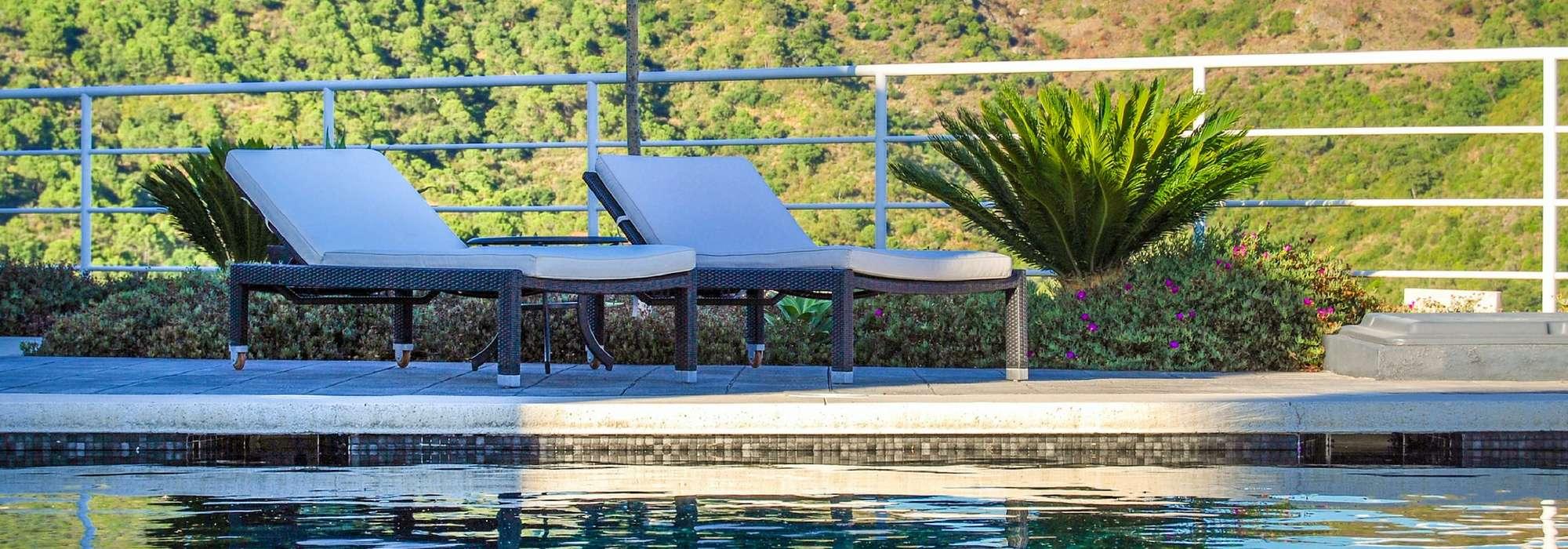 aménager les abords d'une piscine en 5 ambiances - promesse de fleurs