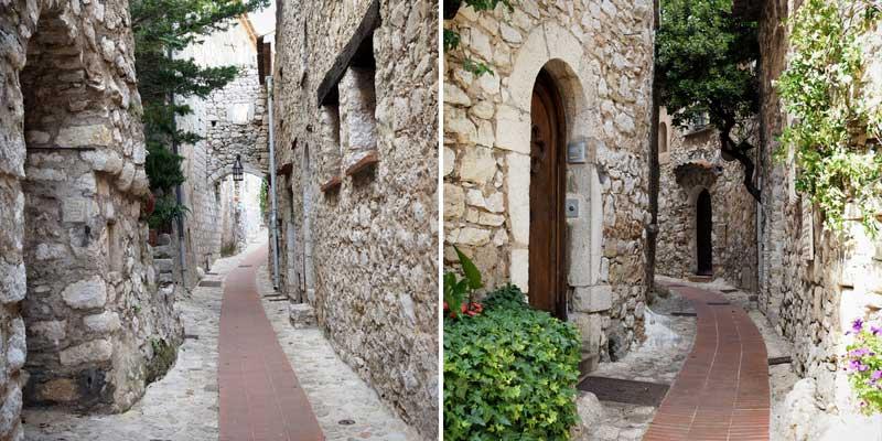 Le village est constitué de nombreuses ruelles, voutes, passages...