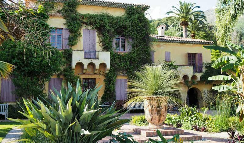 La villa du jardin exotique du Val Rahmeh