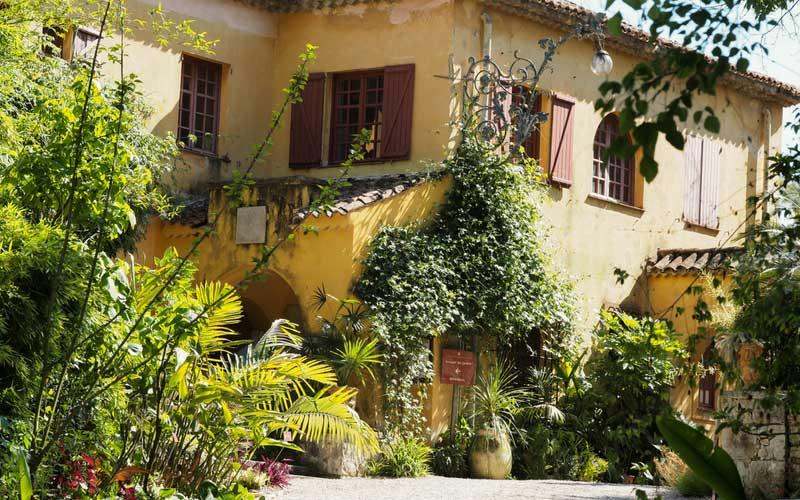 La villa du jardin du Val Rahmeh