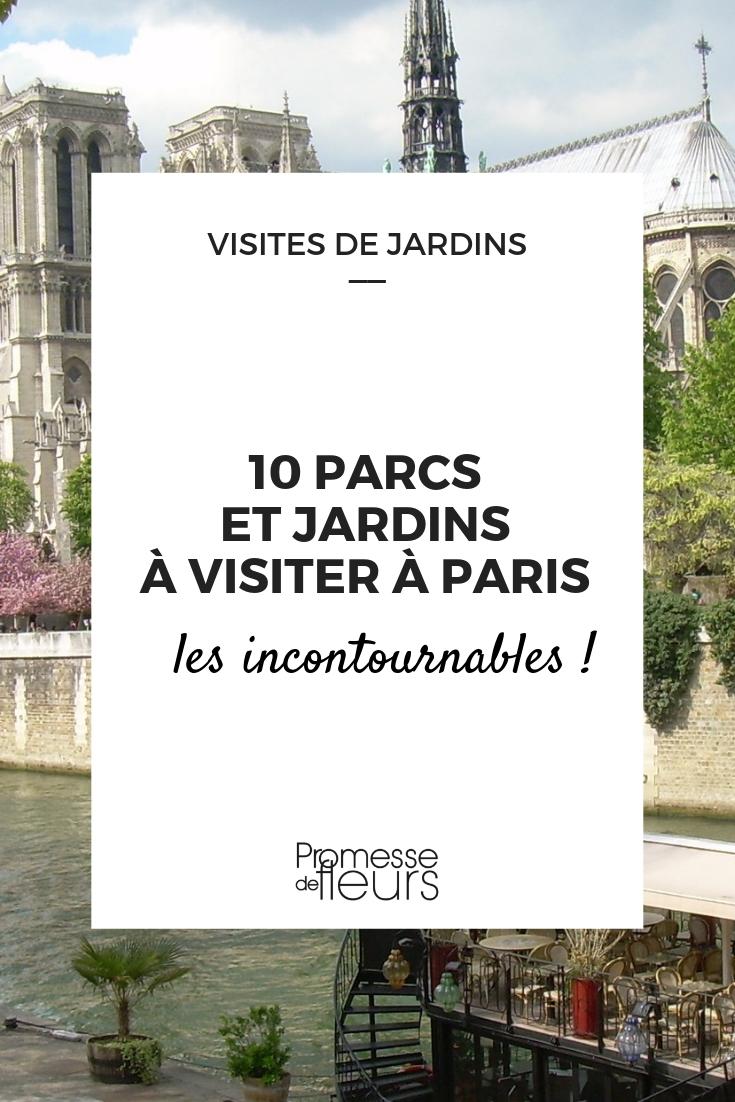 jardin et parcs à paris