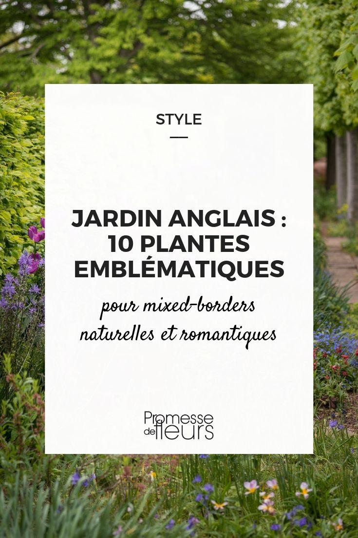 plantes pour jardin anglais