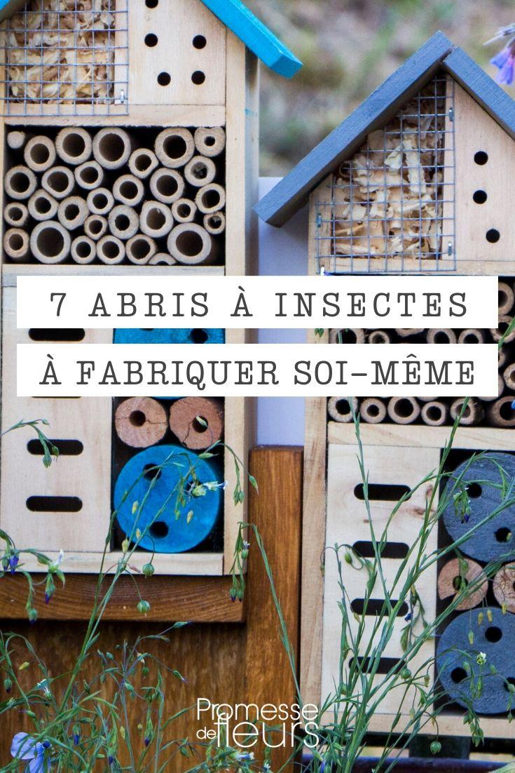 abri à insecte à faire soi-même