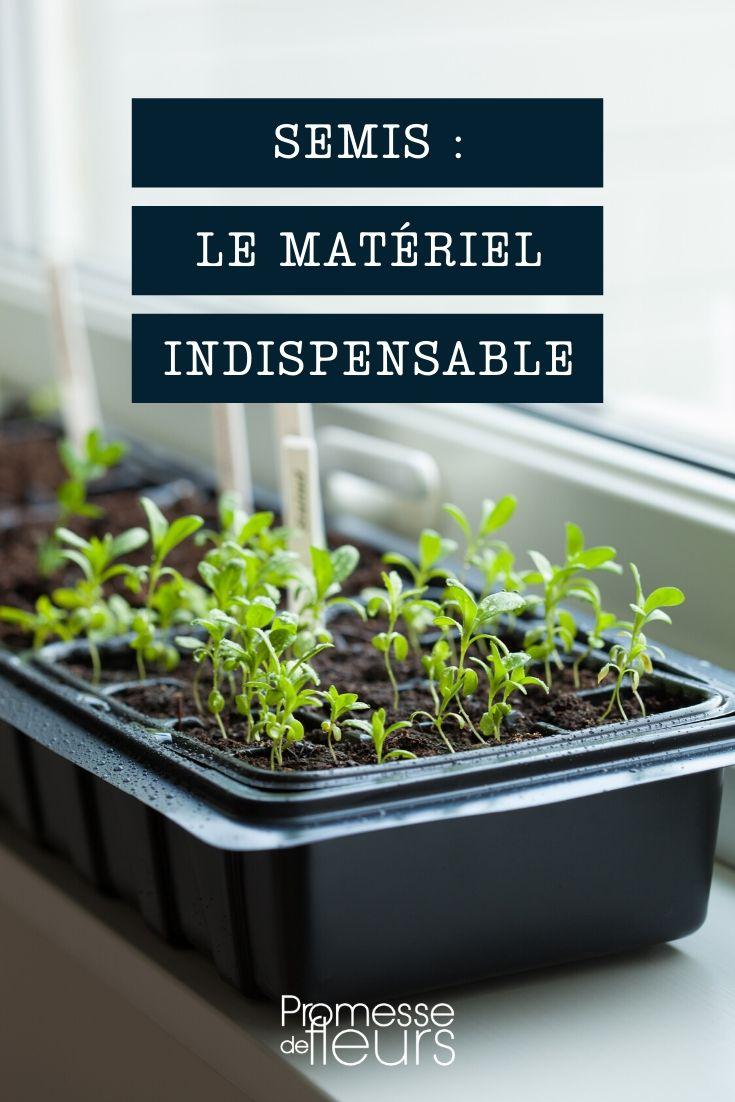 semis : matériel indispensable et accessoires utiles