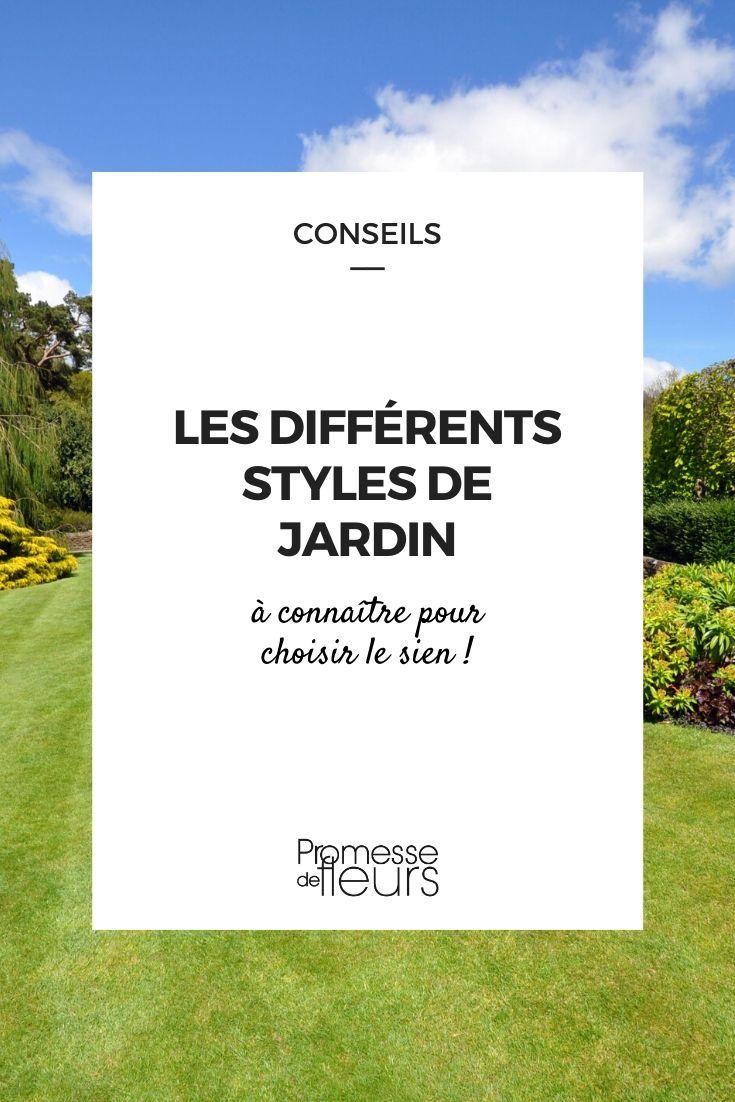 Les différents styles de jardin