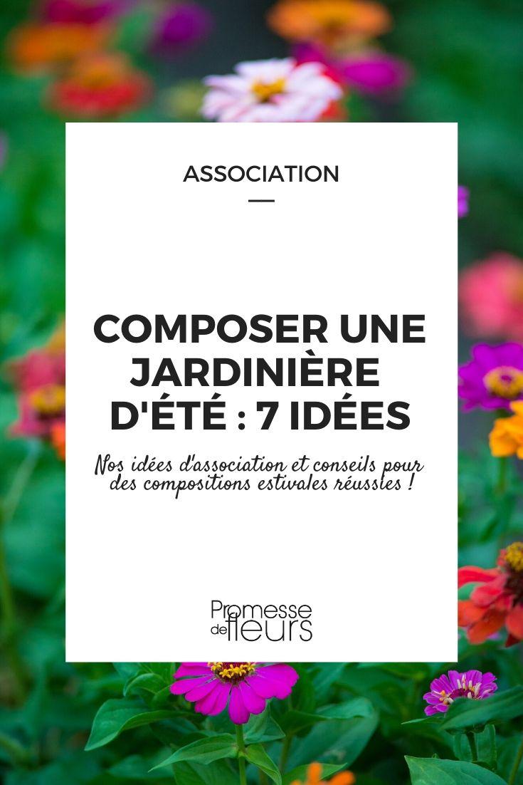 composer une jardinière d'été _ 7 idées