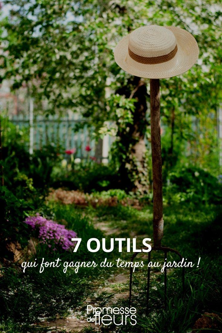 7 outils pour gagner du temps au jardin