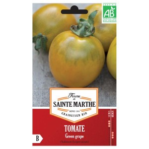 Tomate Green Grape AB - Ferme de Ste Marthe