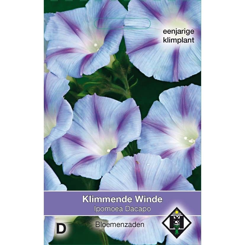 Graines d'Ipomée Dacapo Light Blue - Ipomoea purpurea